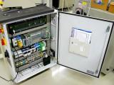 Haltervágó berendezés villamos szekrénye