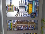 EAC Tömítettség ellenörző berendezés villamos szekrénye átépítés után